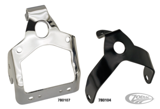 HEADLIGHT & HORN BRACKET FOR EARLY SPRINGER FORKS