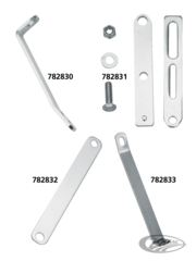 S&S AIR CLEANER SUPPORT BRACKETS FOR SUPER E & SUPER G