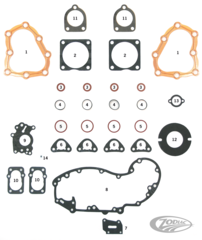 GASKETS AND SEALS FOR 45CI MODELS