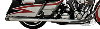 SUPERTRAPP TRUE DUAL CROSS-OVER EXHAUST SYSTEM FOR TOURING