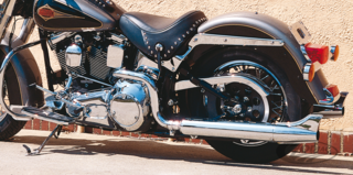 KERKER CROSS-OVER 2-INTO-2 EXHAUST SYSTEMS FOR SOFTAIL