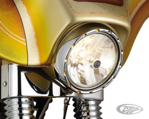 """ARLEN NESS FIRE-RING LED BEZEL FOR STOCK 7"""" HEADLIGHTS"""