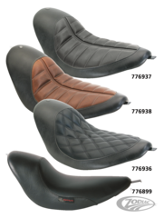 RSD SOLO SOFTAIL SEATS FOR RSD TRACKER FENDER KIT