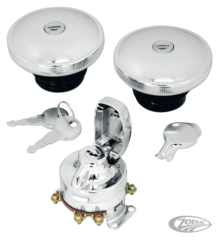IGNITION SWITCH AND LOCKABLE SCREW-IN GAS CAP KITS