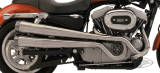 SUPERTRAPP XR STYLE 2-INTO-2 FOR SPORTSTER MODELS