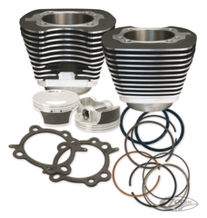 S&S BIG BORE CYLINDER KITS FOR TWIN CAM
