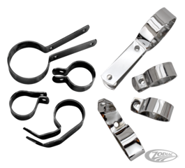 SAMWEL EXHAUST CLAMPS FOR 45CI WL-MODELS
