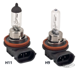 LOW AND HIGH BEAM HALOGEN BULBS