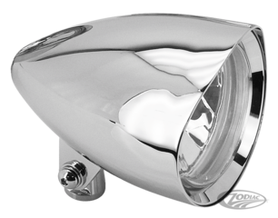 DANCER BILLET CHROME HEADLIGHTS