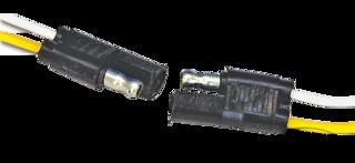 2 POLE NEOPRENE MOLDED CONNECTORS