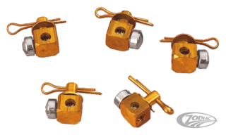 COLONY CARBURETOR CABLE BLOCKS