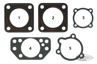 SPECIAL CARBURETOR AND MANIFOLD GASKETS
