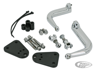 ADJUSTABLE HIGHWAY PEG SUPPORT KIT FOR SPORTSTER