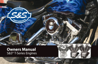 S&S T-SERIES SERVICE MANUAL