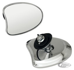 GENUINE ZODIAC TAPERED FAIRING MOUNT MIRRORS