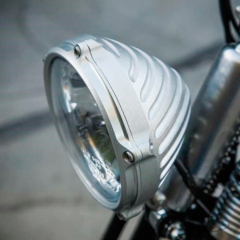 "ROLAND SANDS 5 3/4"" BOTTOM MOUNT HEADLIGHT"