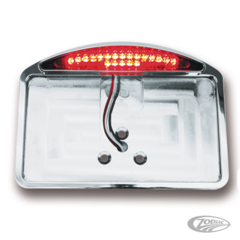SIDE MOUNT & FENDER MOUNT LICENSE PLATE BRACKETS WITH LED TAILLIGHTS