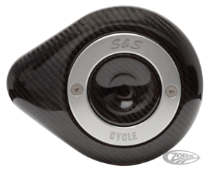 S&S STEALTH CARBON TEARDROP AIR CLEANER