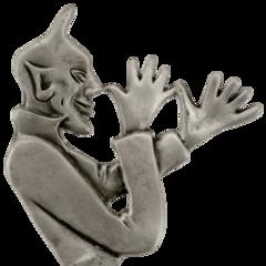 DEVIL LISENSE PLATE TOPPERS & FENDER ORNAMENTS