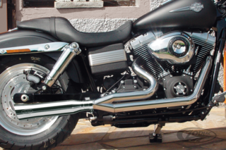 BSL EURO-3 2-INTO-1 EXHAUST FOR DYNA