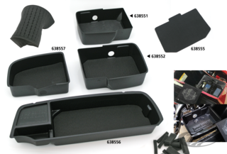 TOP SHELF SADDLEBAG ORGANIZERS