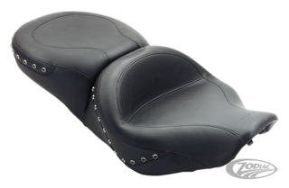 MUSTANG ONE PIECE SMOOTH TOURING SEAT FOR ROAD KING, ELECTRA GLIDE, ROAD GLIDE AND STREET GLIDE
