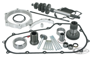 PRIMARY OFFSET KITS FOR 6 SPEED 2006-2017 DYNA AND 2007-2017 SOFTAIL