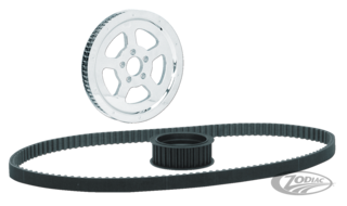 EXTRA CLEARANCE PULLEYS AND BELT KITS