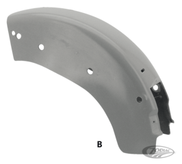 BAGGER STYLE REAR FENDERS FOR TOURING AND SOFTAIL MODELS