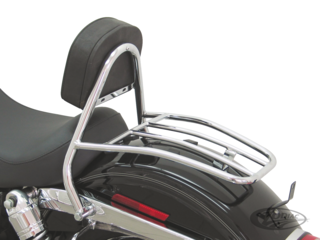 DRIVER BACKREST WITH LUGGAGE RACK 2006-2017 DYNA
