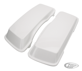 FIBERGLASS SADDLEBAG LIDS FOR TOURING MODELS