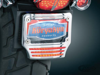 KÜRYAKYN LICENSE PLATE FRAME WITH TRI-LIGHT