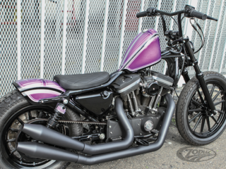 BURLY BRAT SOLO & TWO-UP SEATS FOR SPORTSTER
