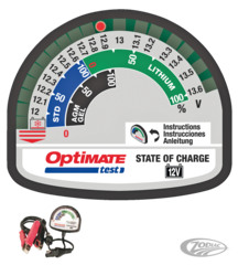 OPTIMATE BATTERY AND ALTERNATOR TESTERS