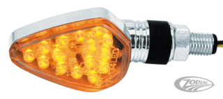 CLIGNOTANT CHROME LED HOMOLOGUE CEE