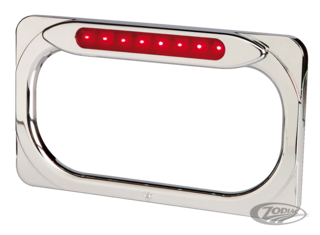 ARLEN NESS RADIUS LED LICENSE PLATE FRAME