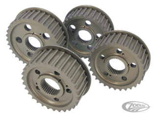 HIGH-PERFORMANCE TRANSMISSION PULLEYS