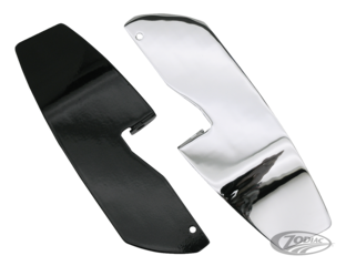 HEEL GUARD FOR FLOORBOARD EQUIPPED MODELS