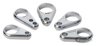 ARLEN NESS BILLET CABLE CLAMPS
