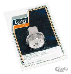 COLONY FORK TUBE CAP BOLT FOR WIDE GLIDE FORKS