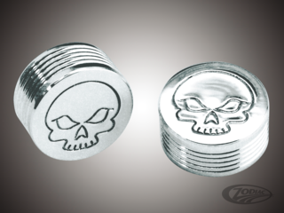 CHROME BOLT COVERS FOR HEX, ALLEN AND BUTTONHEAD BOLTS
