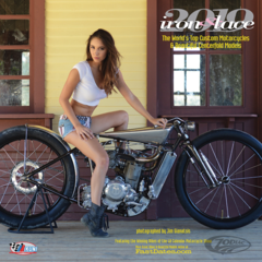 IRON & LACE CUSTOM MOTORCYCLE PINUP CALENDAR