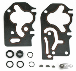 JAMES SILICON BEADED METAL GASKET KITS FOR BIG TWIN OIL PUMPS