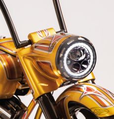 DOUBLE G BAGGERS STRETCHED HEADLIGHT NACELLE