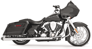 FREEDOM PERFORMANCE AMERICAN OUTLAW DUAL EXHAUST AUSPUFFANLAGEN