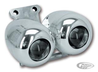 BILLET ALUMINUM HEAD LAMP KITS FOR V-ROD