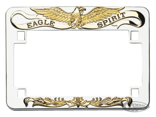 EAGLE SPIRIT LICENSE PLATE FRAMES