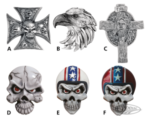 LETHAL THREAT THREE DIMENSIONAL EMBLEMS