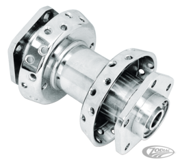 FRONT HUB SPOOL STYLE FOR WIDE-GLIDE FRONT FORKS