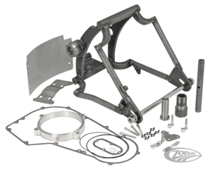 """SUPER-ASS"" SWINGARM KITS FOR 1991 THRU 1999 SOFTAILS AND ZODIAC WIDETAIL FRAMES"